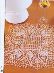 Resultado de imagem para toalhinhas de croche endurecidas