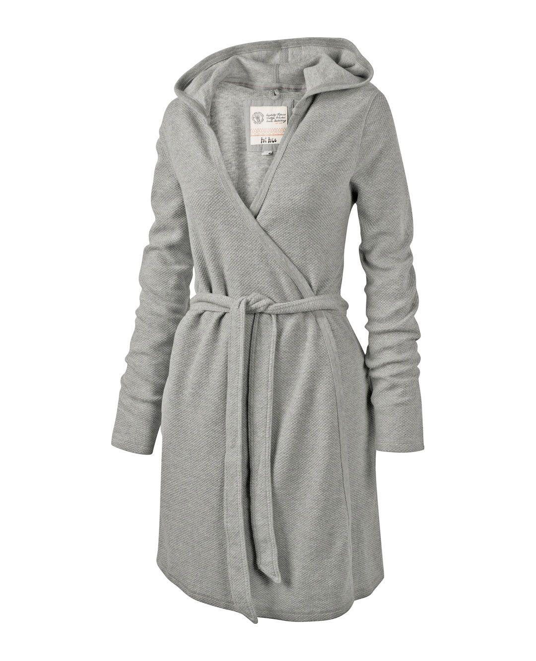 Large image of Waffle Dressing Gown - opens in a new window ...