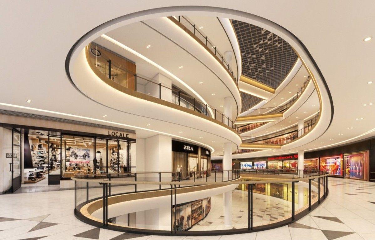 Tropicana Garden Mall Blu Water Studio Shopping Mall Interior