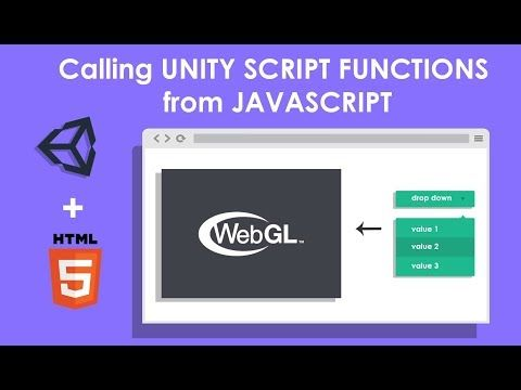 1) Unity WebGL: Interacting with browser scripting , calling unity