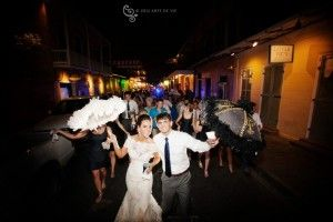 Beautiful New Orleans Bride - Lissome Gown
