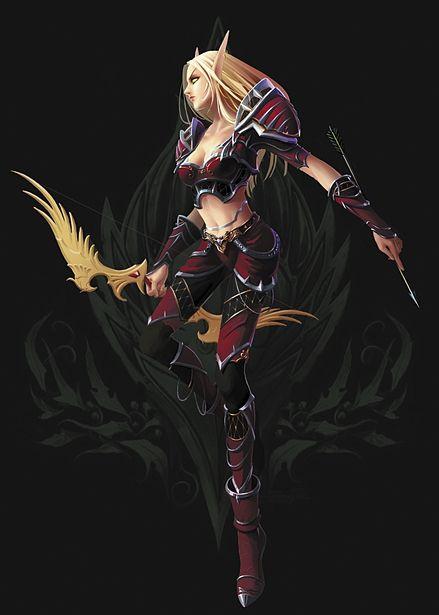 blood elf hunter female world of warcraft - Sök på Google