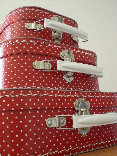 Yep, this is me! Red! Polka dot or gingham, I love it!