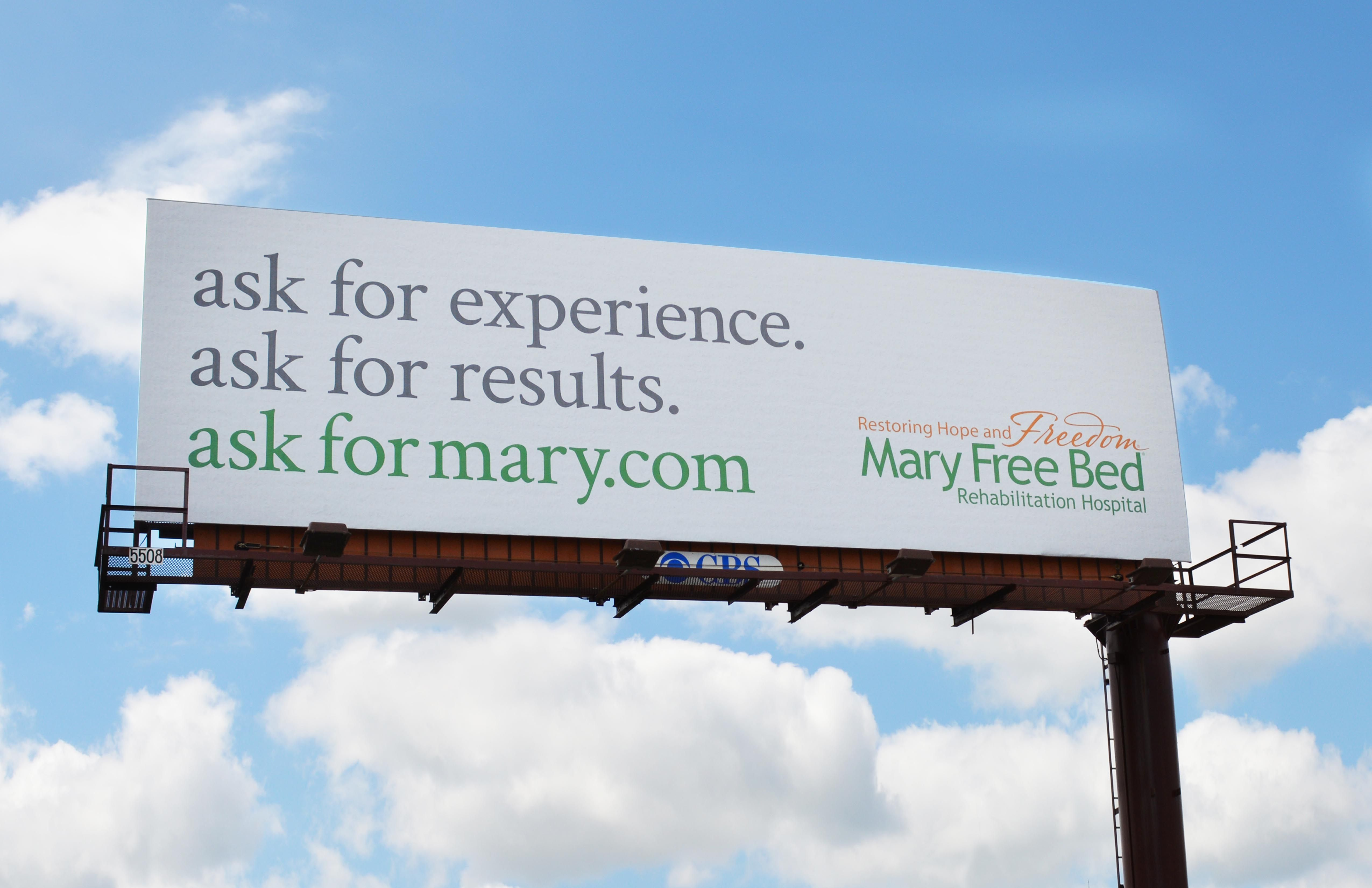 Ask for experience. Ask for results. AskForMary for