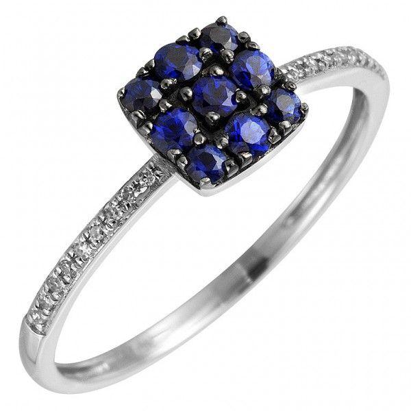 Diamantring verlobung blau  SilberringThe One 0,5 ct | Verlobungsring saphir, Verlobungsring ...