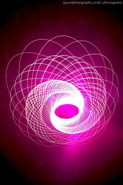 Physiograms » Jules Marshall - Lightpainting