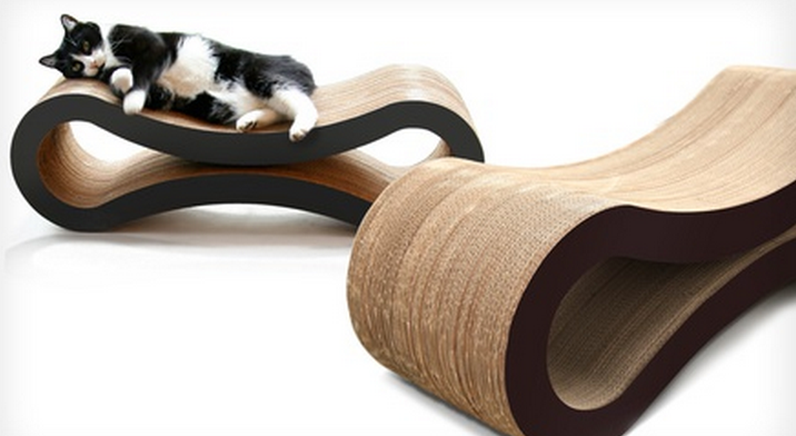 Cat Scratch Lounge - $39 http://bit.ly/1wyKNq0
