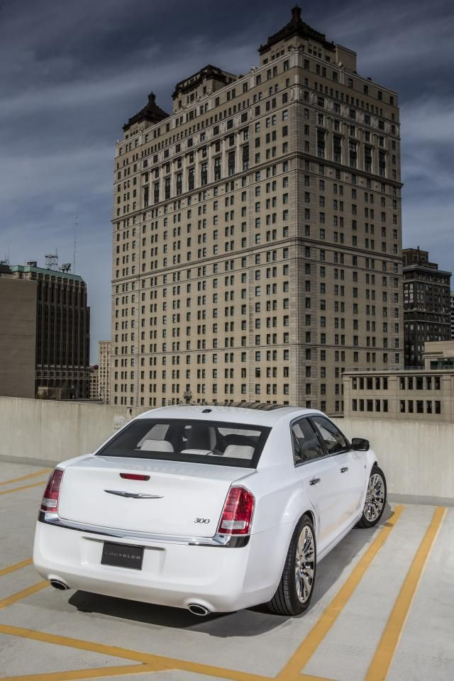 2013 Chrysler 300 Motown Edition Parked Rear Products I Love