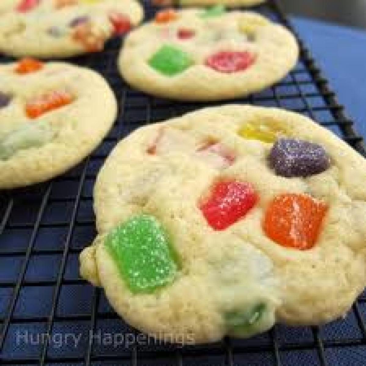 Gum Drop Cookie Slices