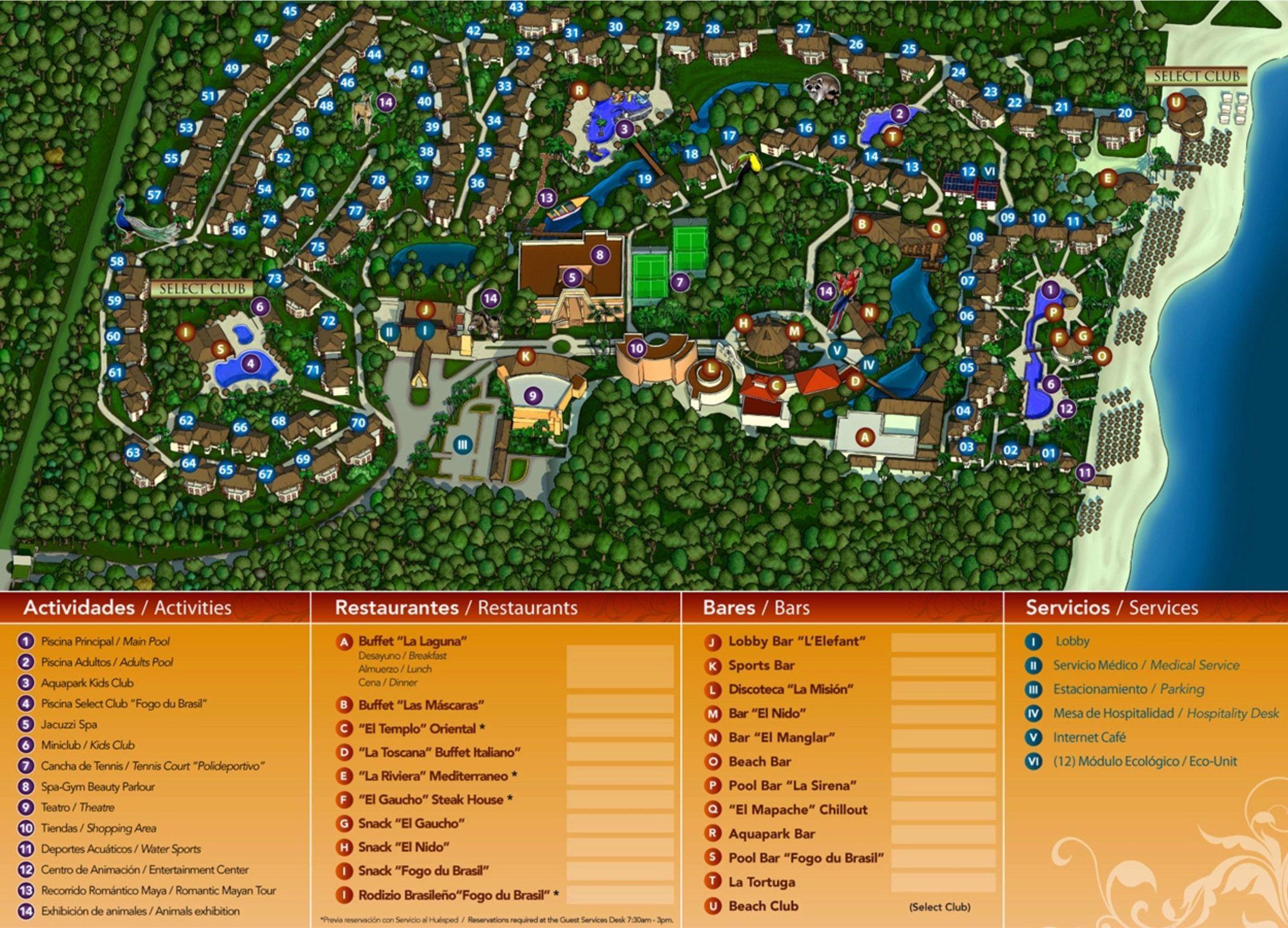 Sandos Caracol Eco Resort Map Image result for sandos caracol eco resort | Cancun Trip | Resort  Sandos Caracol Eco Resort Map