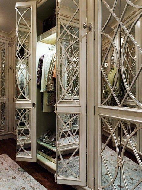 Bon Fancy Mirrored Doors Master Closet, Closet Bedroom, Walk In Closet, Master  Bedroom,