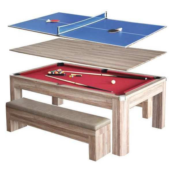 Hathaway Pool Table Combo Set 7 Ft Bg2535p Pool Table Dining