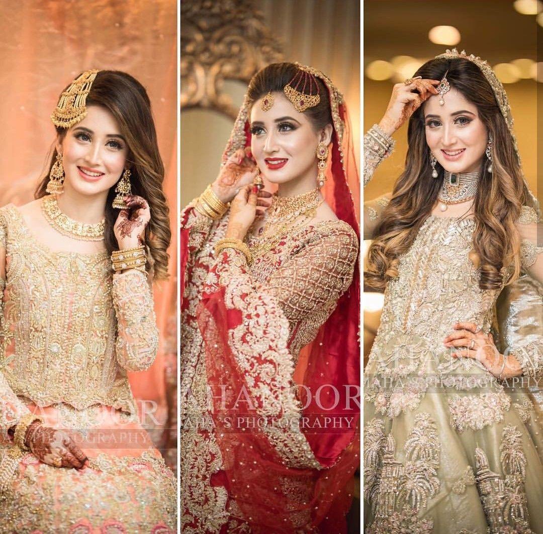 bridal #pakistani #beautiful #wedding #mehndi #barat