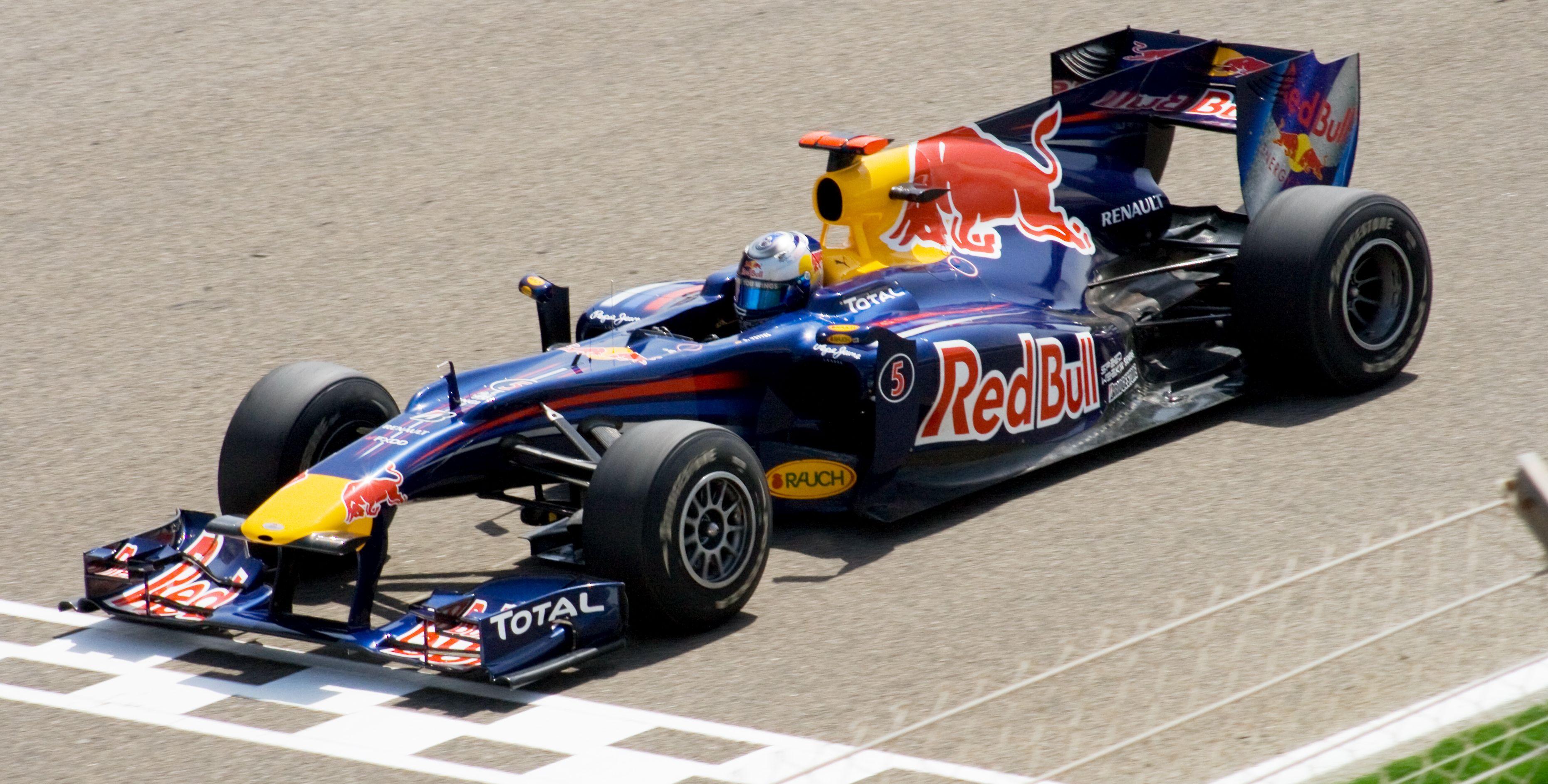 Vettel Red Bull 2010