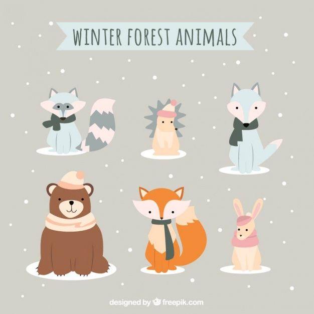 Collection de belles et beaux animaux d 39 hiver free - Image d animaux gratuit ...