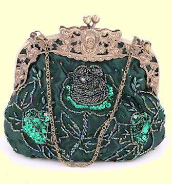 Beaded Clutches Purses Beaded Evening Bag Clutch Purse Satin Rhinestone Clutch Purse