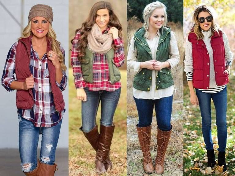 what to wear with vest