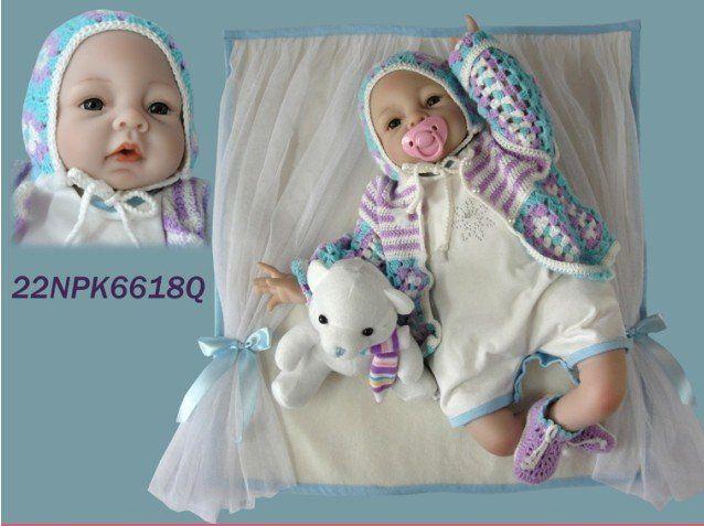 De calidad superior 25 pulgadas altos Ultra   simulación muñecas / bebé reborn doll / similares como adora baby doll en Muñecas de Juguetes y Aficiones en AliExpress.com | Alibaba Group