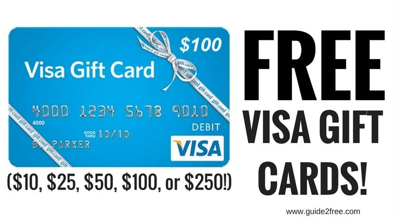 FREE Visa Gift Cards ($12, $12, $12, $120, or $120!)  Mastercard
