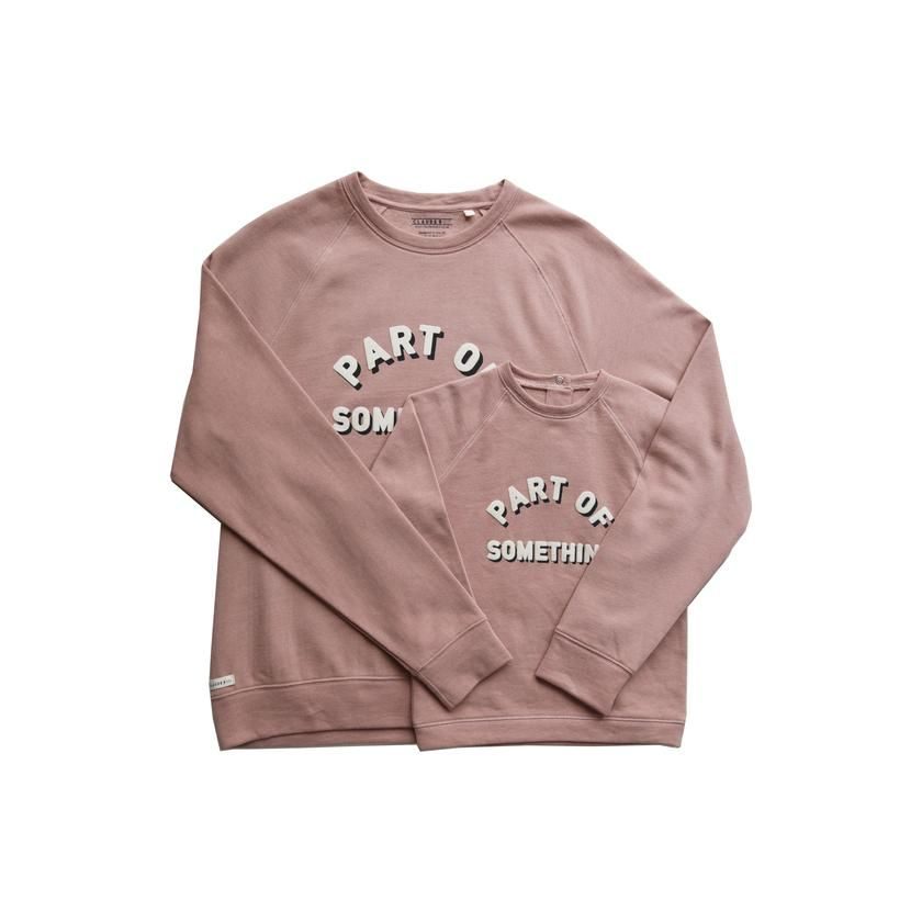 Part Of Something\u0027 Dusky Pink Sweater Adult , Charity