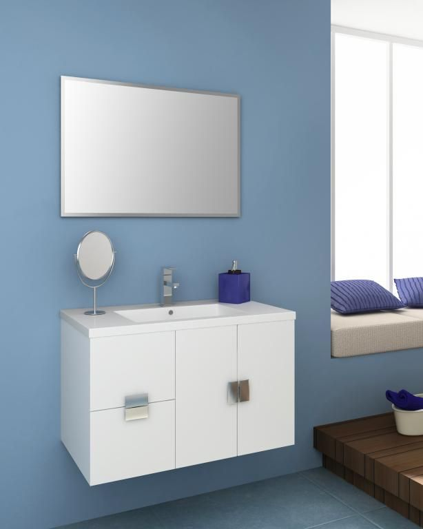 Mueble de baño suspendido Biar de 80cm o 100 cm. JrSink ...