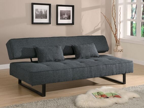Futon Sofa Bed With Espresso Finish