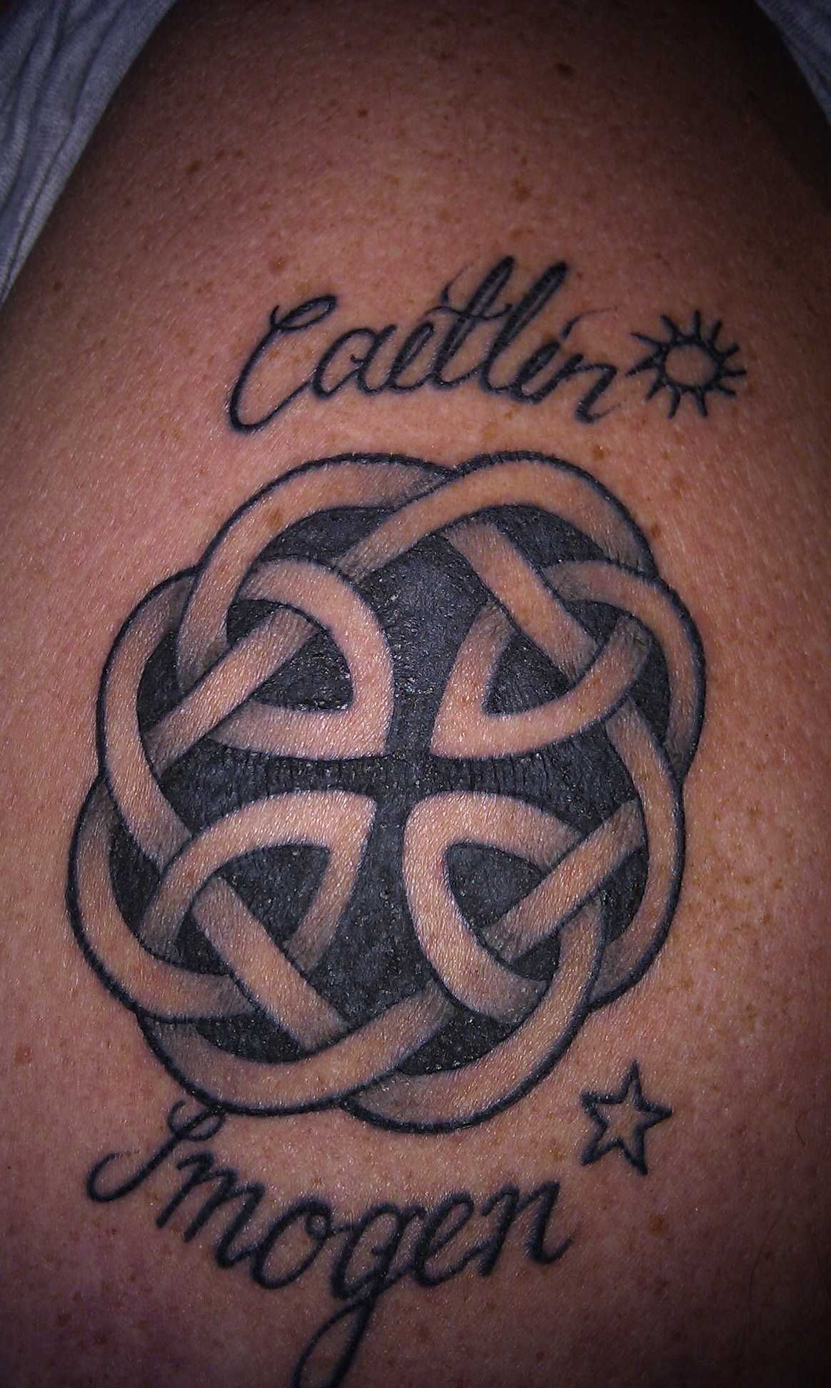 Celtic Fatherhood Tattoo Ybe For My Other Forearm Ink
