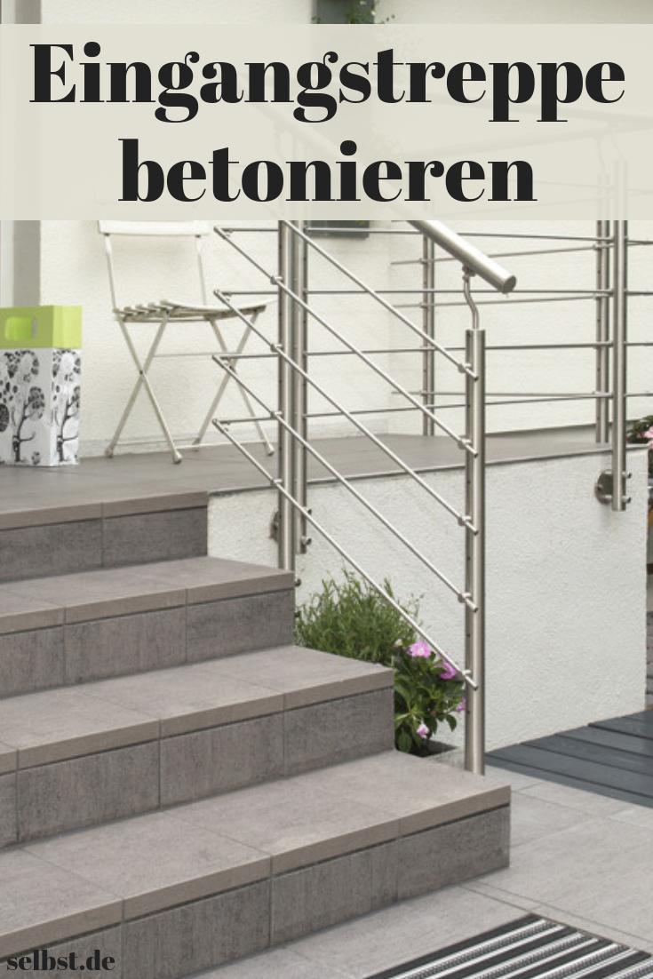 hauseingangstreppe in 2018 | bauen & renovieren | pinterest | treppe