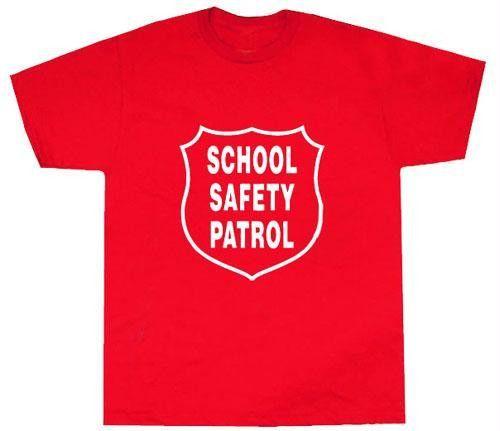 e95e6cfd5 Safety Patrol T-Shirt | Safety Patrol | T shirt, School safety, Shirts