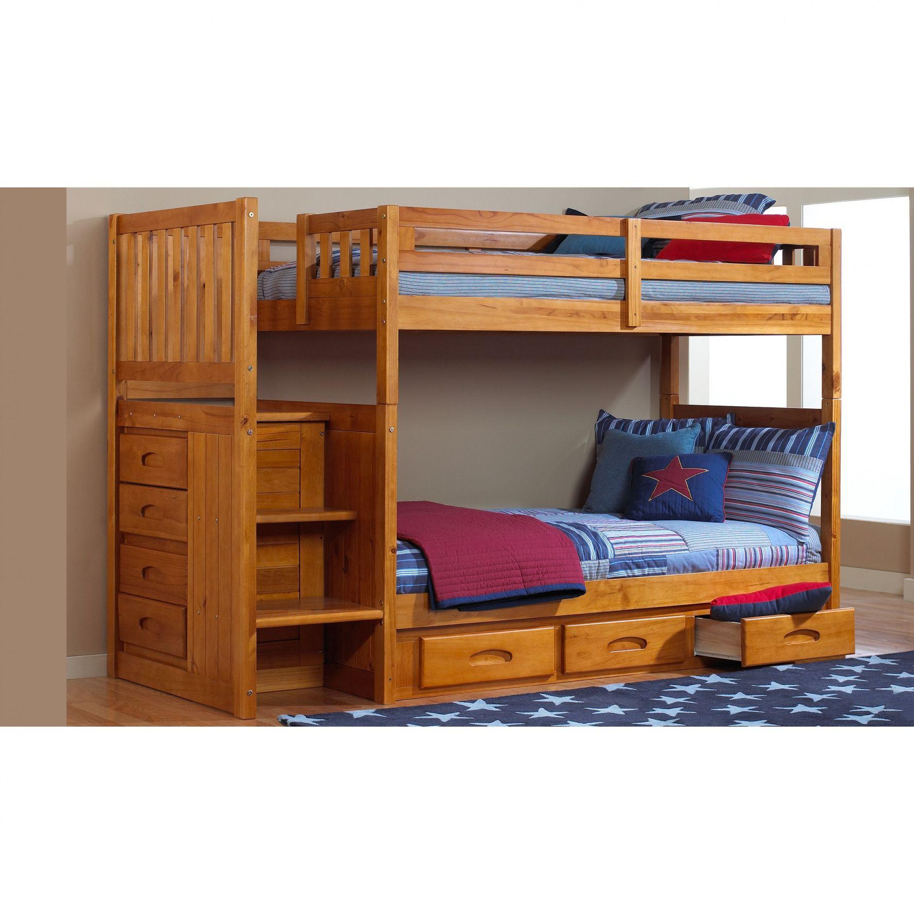 Loft bed with desk on bottom   Dresser Bunk Beds  Mens Bedroom Interior Design Check more at