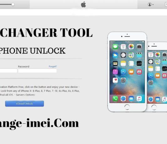 IMEI CHANGER TOOL ICLOUD UNLOCK FREE SERVICE Unlock