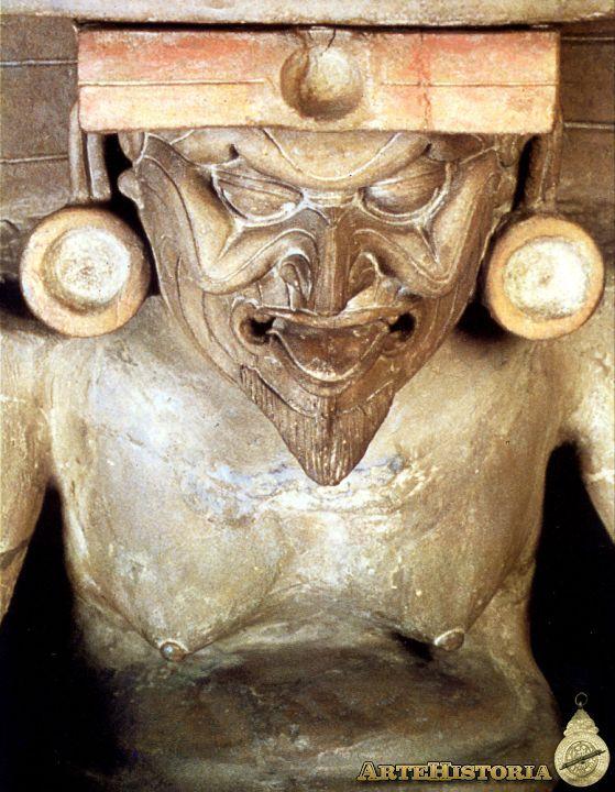 Brasero figurando al dios huehuetéotl méxico museo