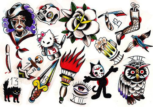 About The Tattoo Flash Art Best Colection Of Tattoo Inspiration Tattoo Flash Art Flash Tattoo Flash Art