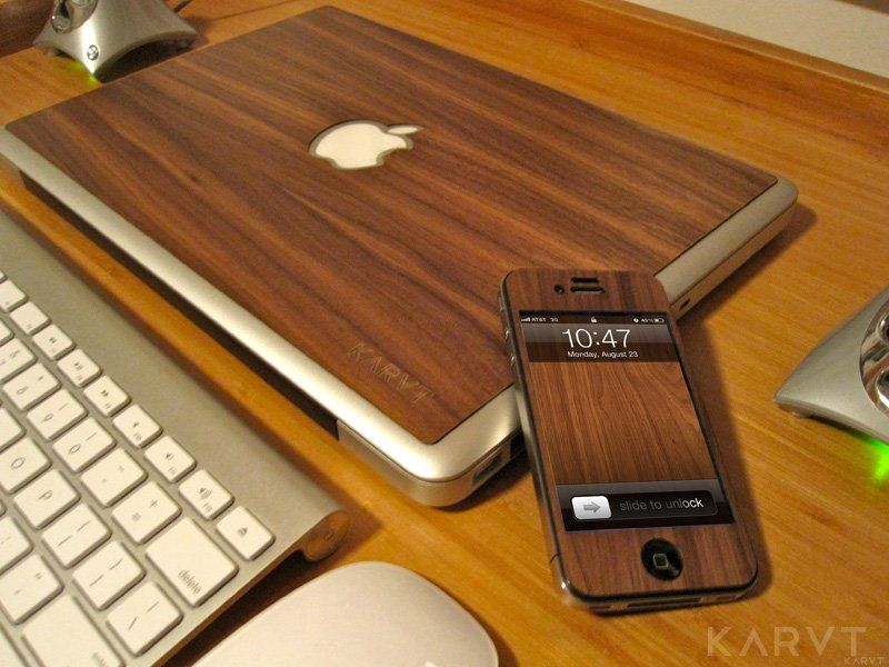 Walnut iPhone/iPad Skin by Karvt