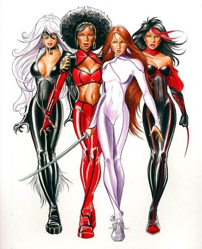 marvel female characters - Google Search | What's another word for