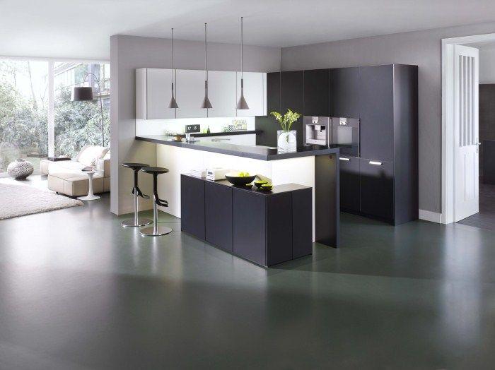 Cuisine Modern Style Leicht Guerande Le Bihen Cuisine Design De Cuisine Moderne Cuisine Moderne Cuisine Leicht