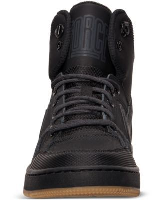 e0093082d45 Nike Men s Son of Force Mid Winter Casual Sneakers from Finish Line - Black  13
