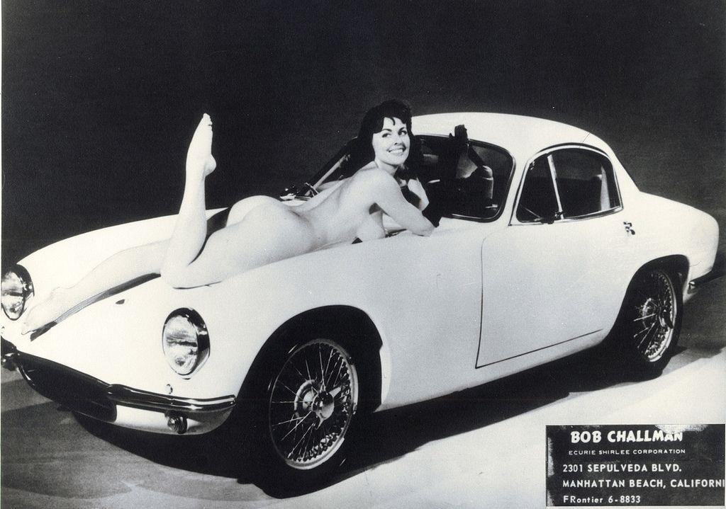 Diane Webber and the Lotus Elite   1954   Pinterest   Lotus elite