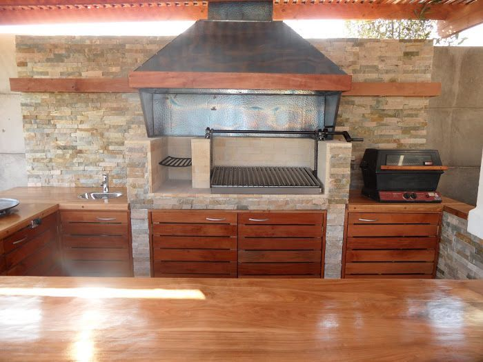 Imagen relacionada barbacoa pinterest parrilla y horno - Cocinas de exterior con barbacoa ...