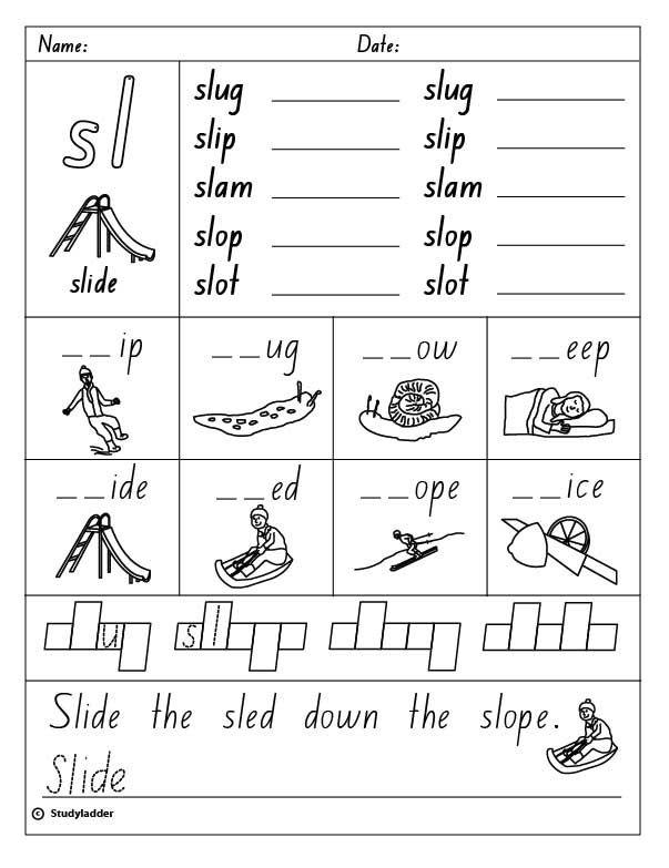Studyladder Online English Literacy Mathematics Kids Activity Phonics Worksheets Phonics Words Phonics Activities