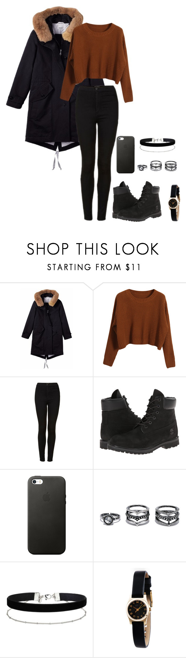 """hold on tight"" by shay-the-turtle on Polyvore featuring Toast, Chicnova Fashion, Topshop, Timberland, LULUS, Miss Selfridge and Marc by Marc Jacobs"