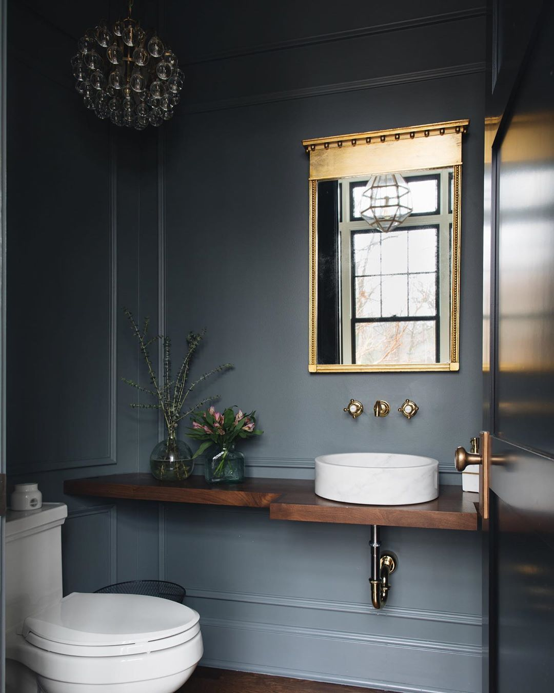 Photo of These Half Bathrooms Pack Big Design in A Small Space