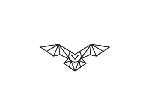 Simple Minimalist Owl Tattoo: Minimal Owl Logos - Google Search