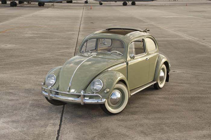 VW sedan 1956 - I learned to drive in a 1962 VW