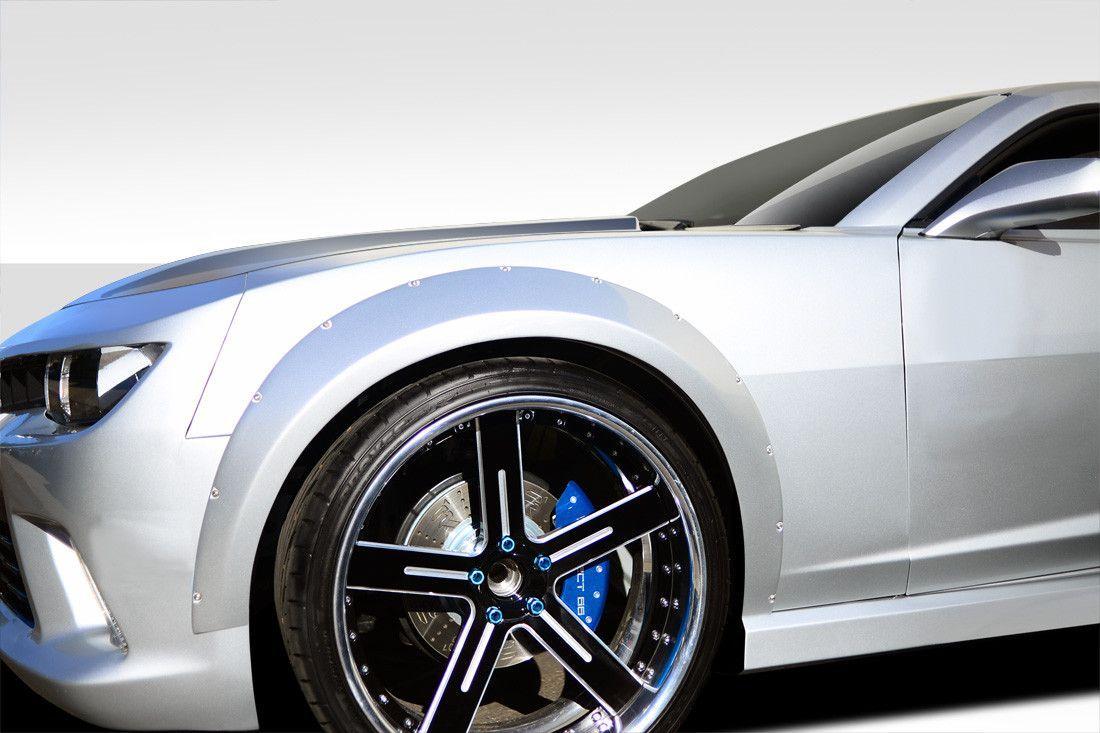 2010 2015 Chevrolet Camaro Duraflex Wide Body Gt Concept Front