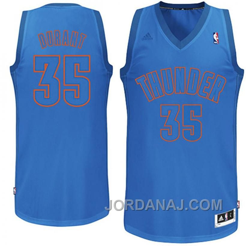 Kevin Durant Oklahoma City Thunder #35 2012 Christmas Day Winter ...