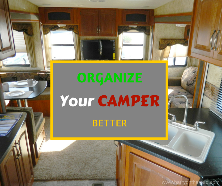 Rv Kitchen Organization: Travel Trailer Camping, Small Campers, Camper