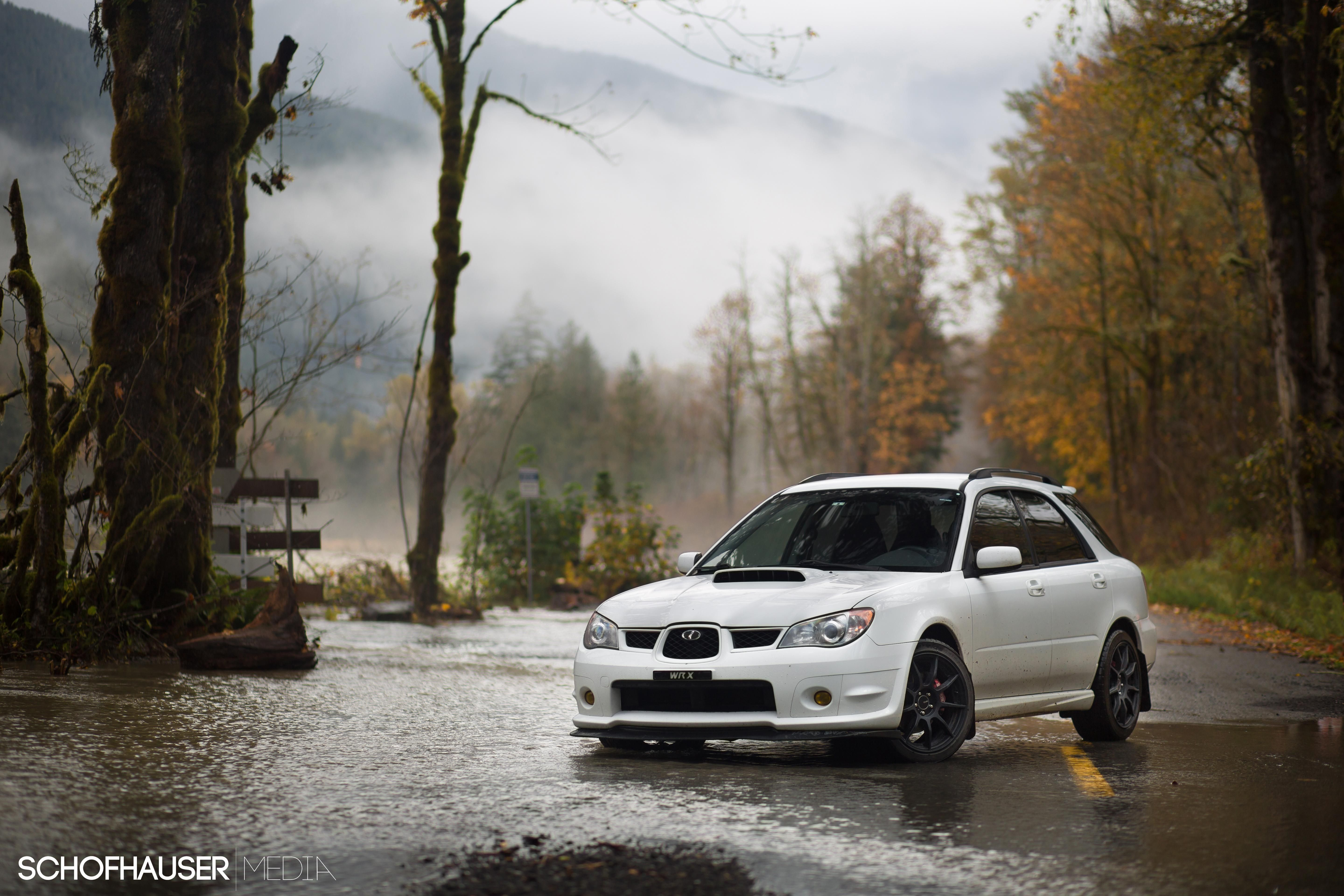 Wagon wednesday on a flooded road subaru wrx sti impreza wagon wednesday on a flooded road vanachro Image collections