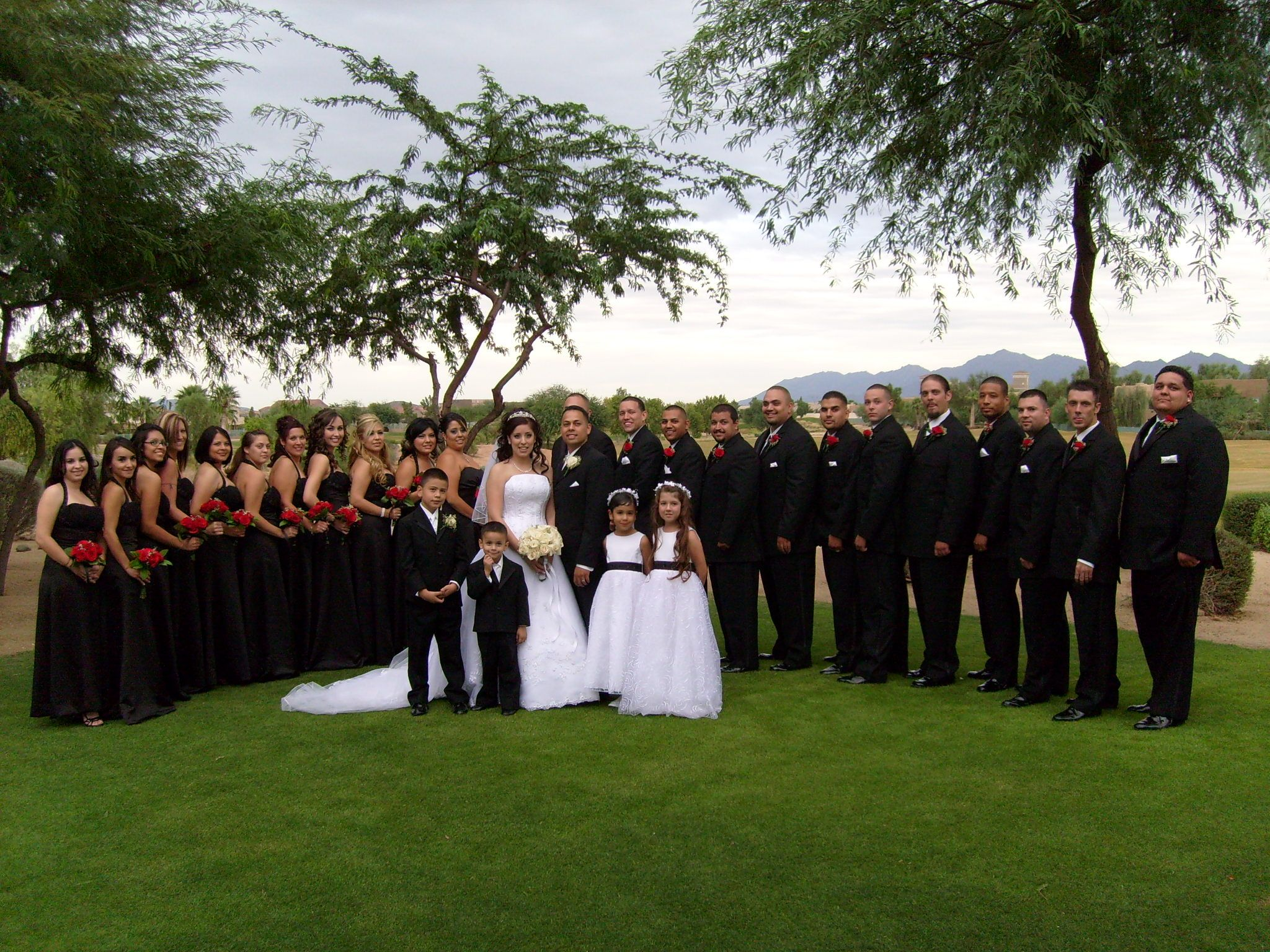 Large Wedding Party Google Search
