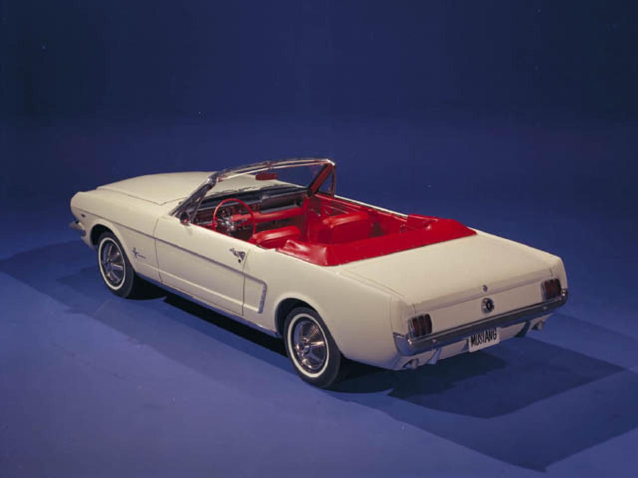 Ford Mustang Through The Years Mustang Convertible Ford Mustang 1965 Mustang Convertible